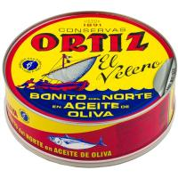 Bonito del norte en aceite de oliva ORTIZ, lata 600 g