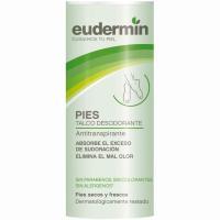 Polvos talco desodorante pies EUDERMIN, caja 150 g