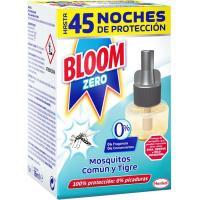Insecticida eléctrico moscas-mosq. BLOOM Zero, recambio 1 unid.