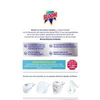 Insecticida eléctrico moscas-mosq. BLOOM Zero, recambio 1 ud