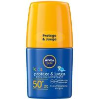 Protector solar infantil FP50 NIVEA, roll on 50 ml