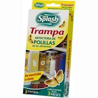 Trampa polillas alimentos SPLASH, caja 3 unid.