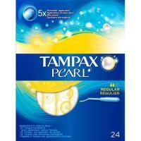 Tampón regular TAMPAX Pearl, caja 24 unid.