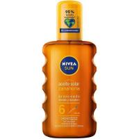 Aceite SPF6 NIVEA, spray 200 ml
