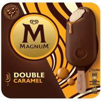 Bombón Double de caramelo MAGNUM, 3uds, caja 219 g
