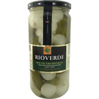 Mix de pepinillos-cebolletas RIOVERDE, frasco 380 g