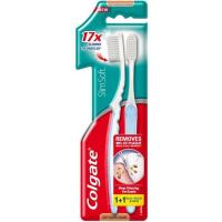 Cepillo Slim Soft COLGATE, pack 2 uds.