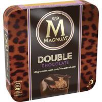 Bombón Double de choco MAGNUM, 3 unid., caja 207 g