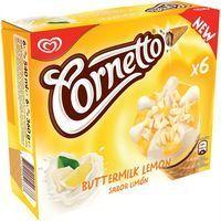 Cono de limón CORNETTO, caja 360 g