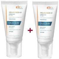 Crema rica UV SPF50 DUCRAY Melascreen, pack 2x40 ml
