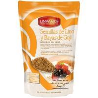 Semillas de lino-goji Bio LINWOODS, bolsa 200 g
