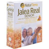 Jalea real senior NATURTIERRA, caja 10 unid.