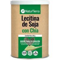 Lecitina de soja + chia NATURTIERRA, lata 200 g