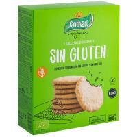 Galleta Digestive sin gluten bio SANTIVERI, caja 360 g