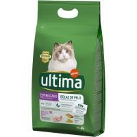 Control bolas de pelo gato esterilizado ULTIMA, saco 3 kg