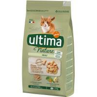 Alimento de pollo para gato ULTIMA Nature, saco 1,25 kg