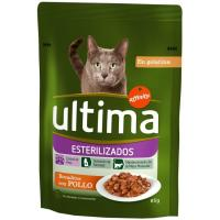 Pouches gato esterilizado ULTIMA, bolsa 85 g