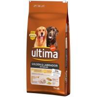 Alimento para perro Golden-Labrador ULTIMA, saco 14 kg