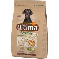 Alimento de pollo para perro mediano ULTIMA Nature, saco 3 kg