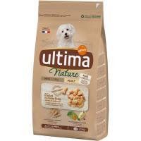 Alimento de pollo para perro mini ULTIMA Nature, saco 1,25 kg