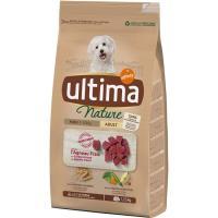 Alimento de cordero para perro mini ULTIMA Nature, saco 1,25 kg