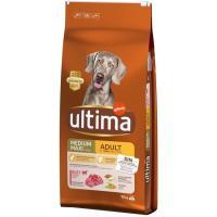 Alimento de buey&arroz para perro adulto ULTIMA, saco 12 kg