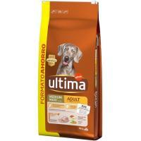 Alimento de buey-arroz para perro adulto ULTIMA, saco 18 kg