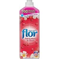 Suavizante concentrado rubí-jazmín FLOR, botella 72 dosis