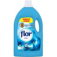 Suavizante concentrado azul FLOR, garrafa 162 dosis