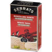 Bonito del norte en aceite de oliva SERRATS, lata 115 g