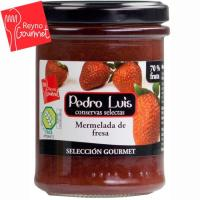 Mermelada de fresa PEDRO LUIS S. Gourmet, frasco 220 g