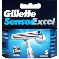 Cargador de afeitar GILLETTE Sensor Excel, pack 5 unid.