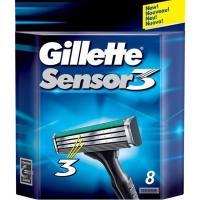 Cargador de afeitar GILLETTE Sensor 3, pack 8 uds