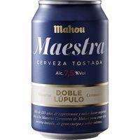 Cerveza MAHOU Maestra, lata 33 cl