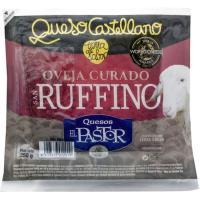 Queso curado de oveja SAN RUFFINO El Pastor, cuña 500 g