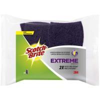 Estropajo con esponja morada extreme SCOTH-BRITE, pack 2 unid.