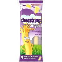 Snack de queso en tiras CHEESTRINGS, 4 uds., bolsa 80 g