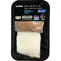 Lomos de bacalao desalado MSC Eroski SELEQTIA, bandeja 400 g