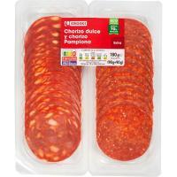Chorizo dulce-Pamplona EROSKI, pack 2x90 g