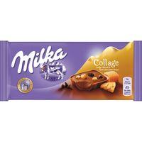 Chocolate Collage de caramelo MILKA, tableta 93 g