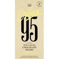 Chocolate negro 95% ORBEA, tableta 125 g