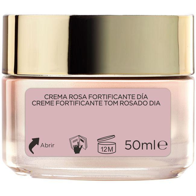 Crema rosa fortificante de día L`OREAL Golden Age, tarro 50 ml
