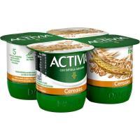 Activia de cereal DANONE, pack 4x120 g