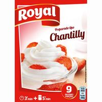 Chantilly ROYAL, caja 72 g