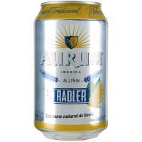 Cerveza AURUM Radler, lata 33 cl