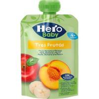 Bolsita de 3 frutas HERO Baby, doypack 100 g