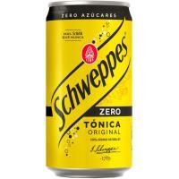Tónica SCHWEPPES Zero, lata 25 cl