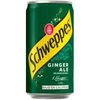 Ginger SCHWEPPES, lata 25 cl