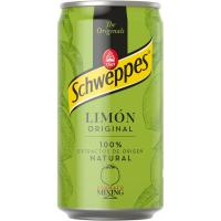 Refresco de limón SCHWEPPES, lata 25 cl