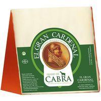 Queso de cabra con pimentón GRAN CARDENAL, cuña 250 g